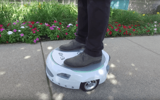 Ford unveils electric hoverboard to commute