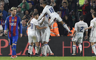 Barcelona 1 Real Madrid 1: Ramos snatches Clasico point to keep Zidane's side in control of title race