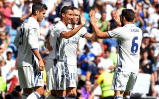 Real Madrid 5 Osasuna 2: Returning Ronaldo on target in Bernabeu rout