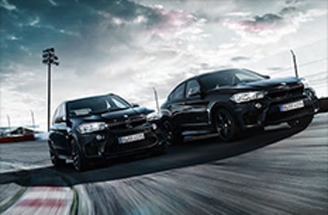 BMW unveils 'Black Fire Editions' of its X5 M and X6 M models