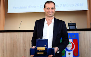 Allegri wins Panchina d'Oro after guiding Juventus to famous double