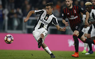 Juventus 2 AC Milan 1: Dybala's 97th-minute penalty delivers dramatic win