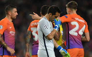 Bravo mistakes will be on the front page - Guardiola