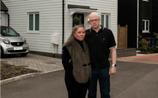Couple discover dream home could be flattened - two weeks after moving in