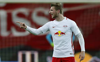 Leipzig beat Frankfurt to cut Bayern's lead