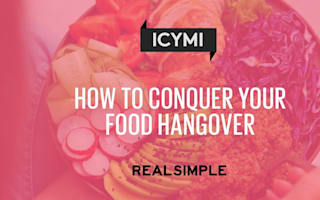 How to conquer your food hangover