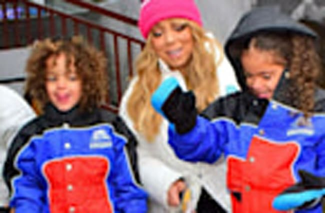 Mariah Carey Shares Sweet Pics of Twins Hanging With a Penguin in Dubai