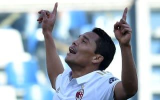 Sassuolo 0 AC Milan 1: Controversial Bacca penalty proves decisive