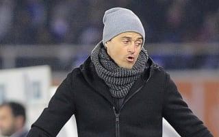 Luis Enrique worried about Eibar's pitch