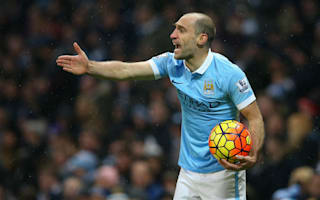 Zabaleta: City need to be honest over title hopes