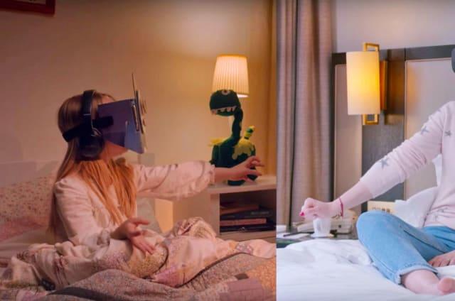El cuento de buenas noches se pasa al modo remoto con las Gear VR