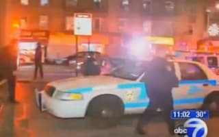 Woman pushes man to death under Subway train
