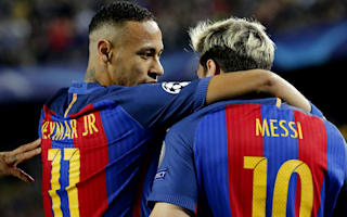 Neymar playing for Barca because of Messi, says father