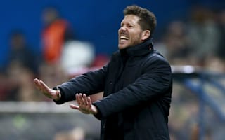 Simeone: Atletico not focused on Champions League draw