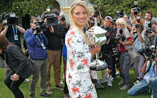 Kerber still flying high after Australian Open triumph