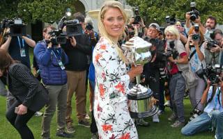 Kerber still flying high after Australian Open triumph