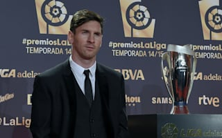 Messi beats Ronaldo to top prize at La Liga awards