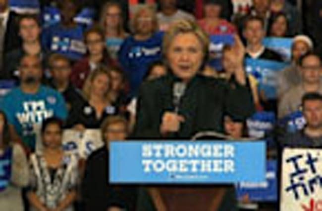 Clinton Pushing for Ohio Undecided Ohio Voters