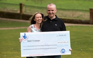 £107m winner's car dream comes true