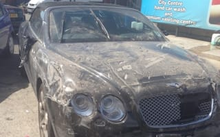 Fake valet smashed £80k Bentley through brick wall