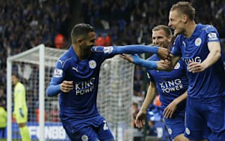 Leicester City 3 Everton 1: Vardy at the double as champions are crowned in style