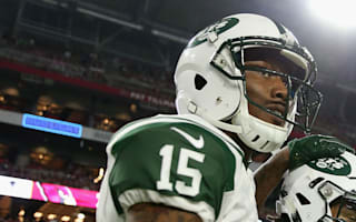 New York, New York: Brandon Marshall swaps Jets for Giants