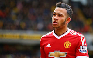 Depay not blaming Van Gaal for his Manchester United struggles