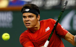 Raonic battles past Goffin to reach Indian Wells final