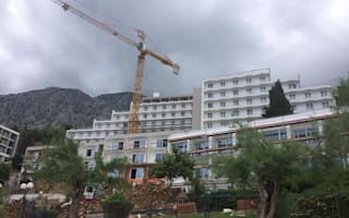 British holidaymakers book Thomson hotel in Croatia that's still being built