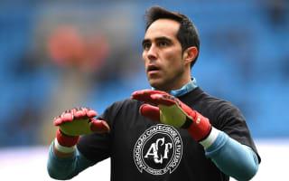 Bravo the world's best goalkeeper, says Pellegrini