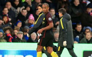 Guardiola welcomes Kompany back for Everton trip