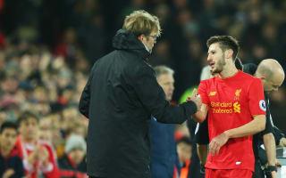 Lallana return the best news Liverpool could get - Klopp