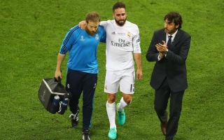 Carvajal furious at missing Euro 2016