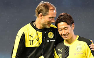 No problems with Kagawa says Dortmund boss Tuchel