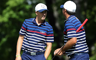 Spieth, Reed lead off in intriguing opening matches