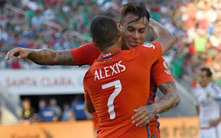 Mexico 0 Chile 7: Vargas scores four as Copa champions ease into semis