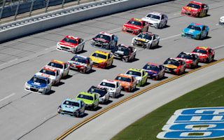 Stenhouse Jr. ends long drought to win Geico 500