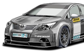 Toyota could return to BTCC as it releases race liveried Avensis