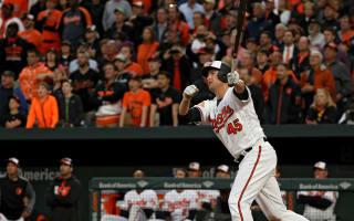Orioles top Red Sox, Sanchez makes history