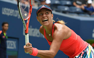 Kerber pulls clear in second set to reach semis