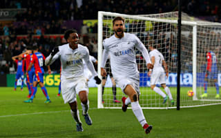 Swansea City 5 Crystal Palace 4: Llorente the last-gasp hero to leave Pardew on the brink