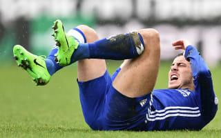 Hazard nursing 'little problem' as Chelsea prepare for West Ham