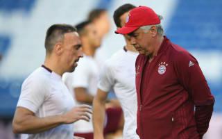 Bayern boss Ancelotti denies Ribery rift