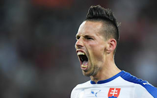 Hamsik 'proud' of Slovakia after Euro 2016 win over Russia