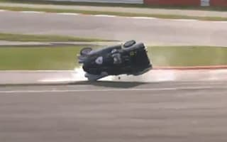 Video: Silverstone crash shows Blissett's corner-taking ability has faded