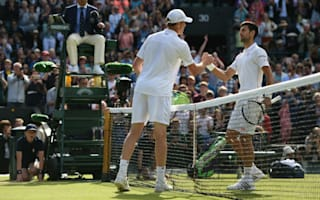 Defending champion Djokovic defeated, Murray stays on track