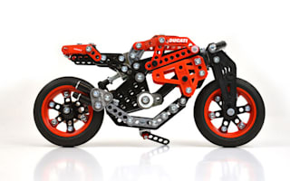 Ducati reveals its cheapest motorcycle yet - the £25 Meccano Monster