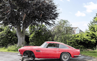 Rusty old Aston Martin DB4 could reach £180,000 at auction