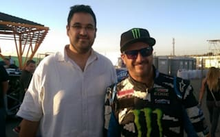 AOL Cars rides with Ken Block