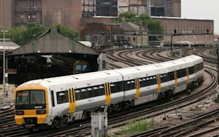 Passengers evacuated after train wheels catch fire